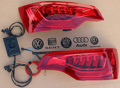 Audi Q7 original genuine facelift LED taillights with interface ECU plug & play