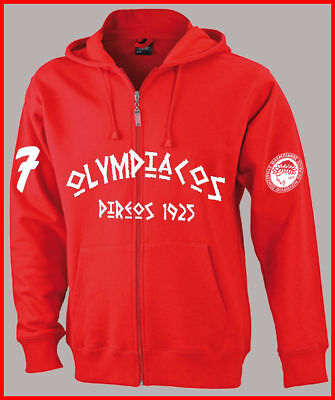 Olympiakos Piräus Sweatjacke Sweatshirt Jacke Hellas Greece Super League