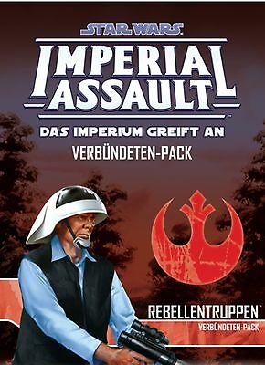 Star Wars: Imperial Assault | Rebellentruppen Erweiterungspack | Deutsch, Neu