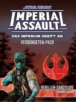 Star Wars: Imperial Assault | Rebellen-Saboteure Erweiterungspack | Deutsch, Neu