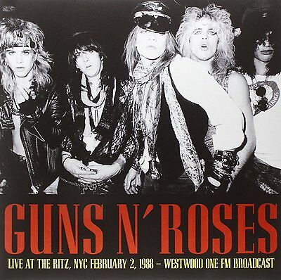 Guns N' Roses Live At The Ritz Nyc February 2 1988 Westwood One Fm Vinile Lp !!