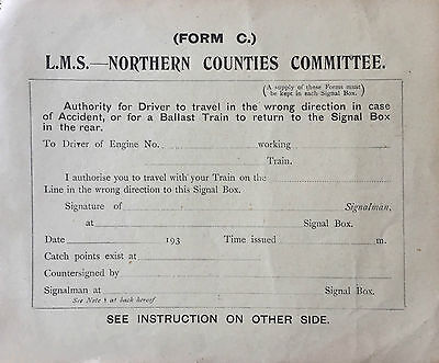 L.M.S.Northern Counties Committee Form C Trains Railways 1930's
