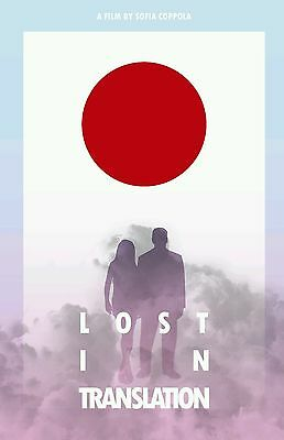 Lost In Translation Retro Style Movie Print Poster 8x10 A4 Glossy