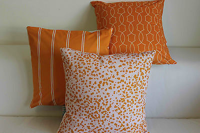 Art Orange Home Decor Cotton CUSHION COVER Throw PILLOW CASE 18""