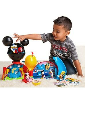 Authentic Disney Mickey Mouse Clubhouse Deluxe Play Set Nib