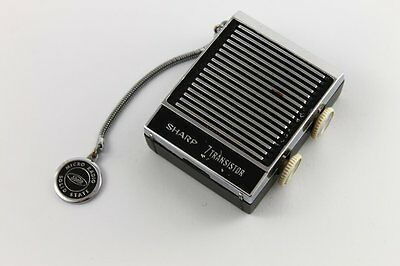 RARE 1966 SHARP BP-103 7 Transistor Micro Radio Japan