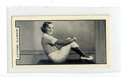 (Jc2743-100)  BAT PRINTED,MODERN BEAUTIES 1ST,JEANETTE SMALLEY,1938,#35