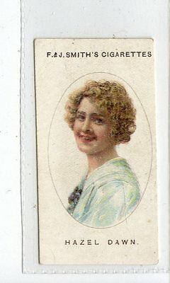 (Jc4403-100)  SMITH,CINEMA STARS,HAZEL DAWN,1920,#8