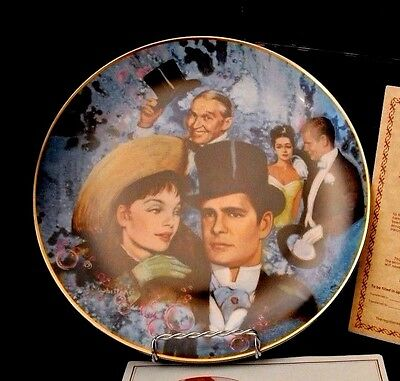 "1978 Golden Age of Cinema Collectors Plate - ""GiGi"""