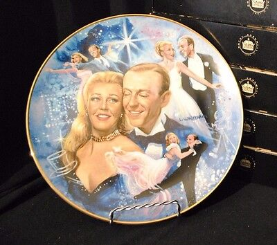 "1978 Golden Age of Cinema Collectors Plate - ""Fred and Ginger"""