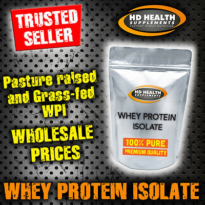 5Kg Pure Whey Protein Isolate Powder   Raw & Unflavoured Wpi
