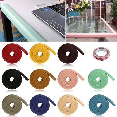 Baby Kids Safety Proofing Glass Table Desk Edge Corner Cushion Guard Soft Bumper