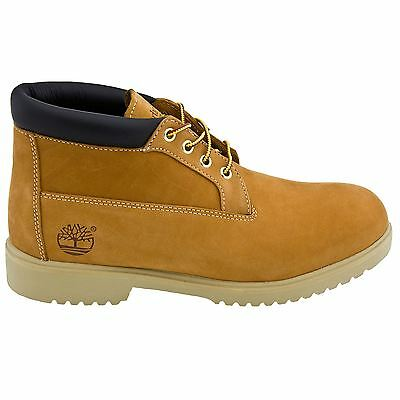 Timberland Waterproof Chukka Wheat Mens Nubuck Boots