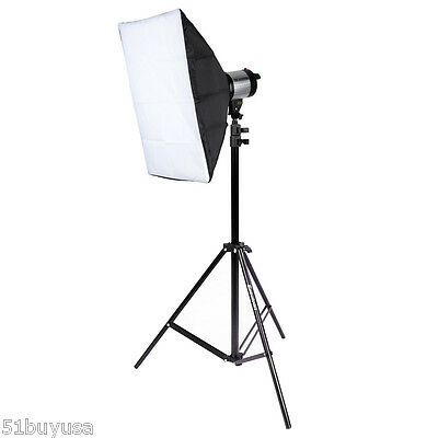 2.1m Photo Studio Support Tripod Stand Photography Softbox Umbrella Light Stand