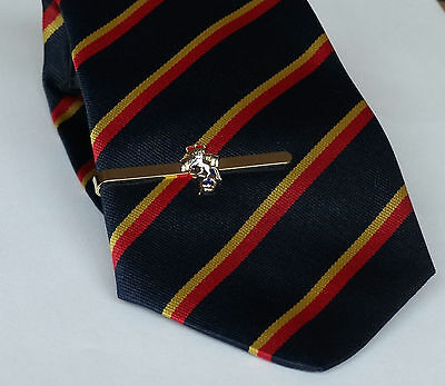 ROYAL ELECTRICAL & MECHANICAL ENGINEERS - REME Tie Grip and Striped Tie Gift set