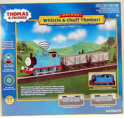 Bachmann HO Scale Train Set Analog Sound Equipped Whistle & Chuff Thomas 00739
