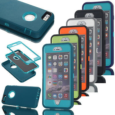 Shockproof Heavy Duty Hybrid Rugged Armor Hard Case Cover Fr iPhone 7 6S Plus 6s
