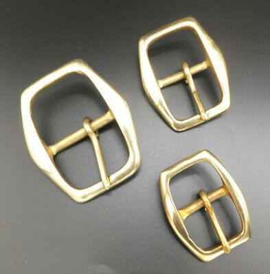 CAST SOLID BRASS [ 25 mm - 32 mm - 38 mm ] BELT BUCKLE Leather craft  517