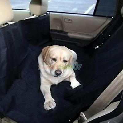Waterproof Dog Car Seat Cover Protector Travel Auto 2 in 1 Rear Bench Hammock