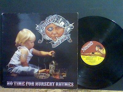 TATTOOED LOVE BOYS  No Time For Nursery Rhymns  LP  Music For Nations    RARE !!