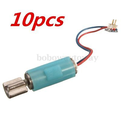 10pcs  4mmx12mm 412 Hollow Cup Motor Vibration Motor Micro DC Brushless Motor Tw