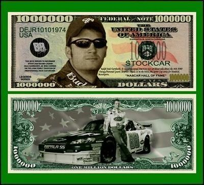 100 Factory Fresh Novelty Dale Earnhardt Jr Million Dollar Bill