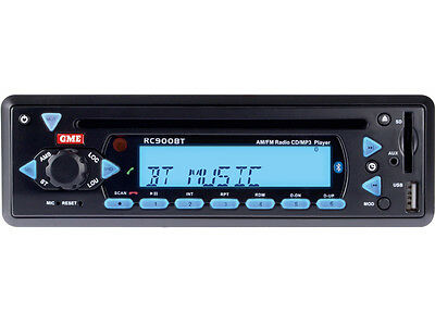 Gme Am/fm Radio Cd/mp3 Player With Bluetooth & Ipod Connectivity (Rc900Bt)
