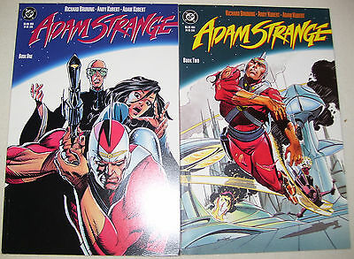 DC Comics ADAM STRANGE 1990 #1 & 2 Prestige Format VF+ to VF/NM