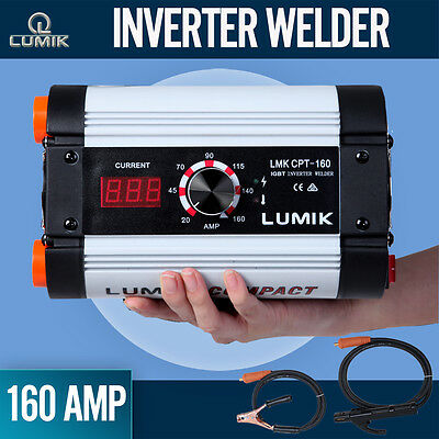 NEW Lumik 160Amp DC iGBT Inverter Welder Portable Stick Welding Machine
