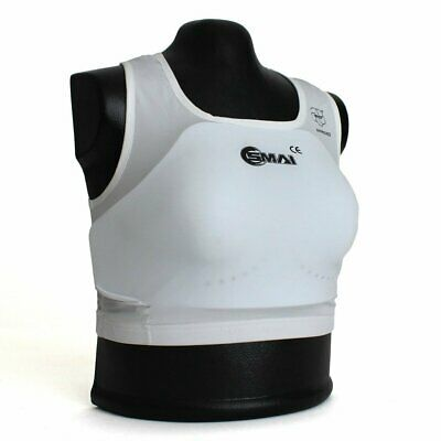 Women SMAI WKF Approved Breast Chest Guard Boxing UFC MMA