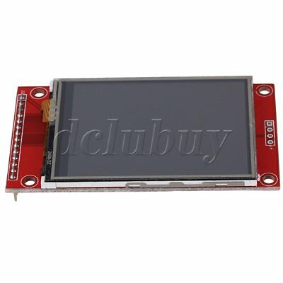 "240 x 320 2.4"" SPI TFT LCD Color Touch Panel Serial Port Module With PBC ILI9341"