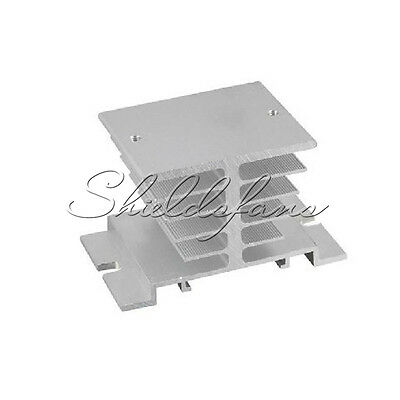 Aluminum Heat Sink for Solid State Relay SSR Heat Dissipation 10A-40A