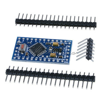 2PCS Pro Mini atmega328 3.3V 8M board Replace ATmega128 Arduino Compatible Nano