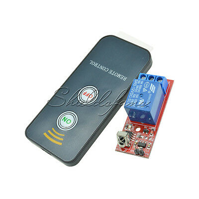 1 Channel Infrared Switch Relay Driving Module Board 12V Remote Controller S