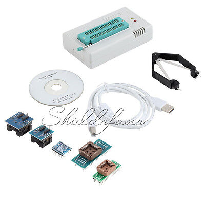 TL866CS Programmer USB EPROM FLASH BIOS 6 Adapter Socket Extractor For 13000 IC
