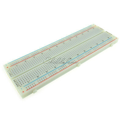 10 X Solderless MB-102 MB102 Breadboard 830 Tie Point PCB BreadBoard For Arduino