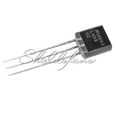 5PCS LM35DZ LM35 TO-92 NSC TEMPERATURE SENSOR IC Inductor S