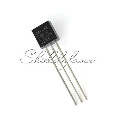 2PCS DALLAS DS18B20 18B20 TO-92 Thermometer Temperature Sensor S