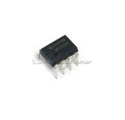 10PCS NE5532P NE5532 DIP-8 Dual Low Noise Op-Amp TI IC new