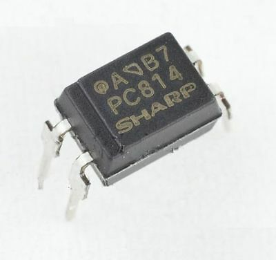 50PCS PC814 EL814 DIP-4 SHARP Photo coupler Photocoupler