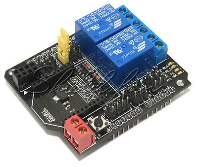 5V Two 2 Channel Relay Module Shield Module XBee BTBee Expansion Board Arduino S
