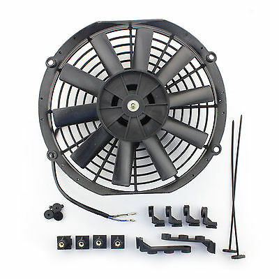 """ACP 10"""" Universal Pull Radiator Cooling Fan Straight Blades Replacement Unit"""