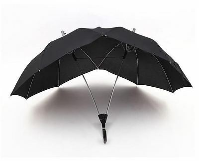 Two-People Modern Novelty Couple Umbrella/Dual-Brella in 3 Colors