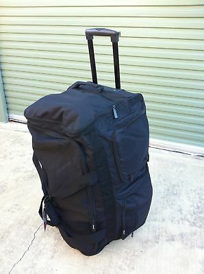 "New 26"" (90L) Heavy-Duty Water-Proof Large Rolling Travel Duffle Trolley Bag"
