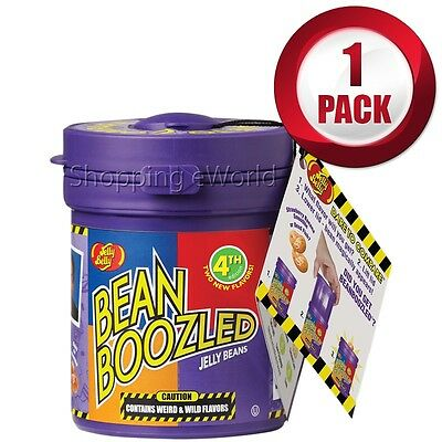 1 Pack BEAN BOOZLED Mystery Bean Dispenser 3.5oz by Jelly Belly Candy Challange