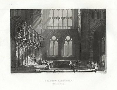 Glasgow Cathedral  St Mungo's  Lanarkshire SCOTLAND - FREE SHIPPING
