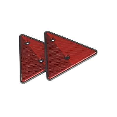 Sealey Rear Reflective Red Triangle Pack of 2 Vehicle Towing Equipment TB17