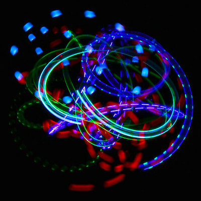 GloFX Exclusive Morph 6-LED Orbit Continuous Color Changing Lights Party Prism