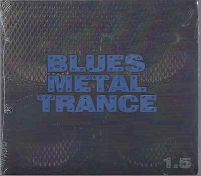 Bill Menchen-Blues Metal Trance 1.5 CD Christian Metal(Brand New Factory Sealed)