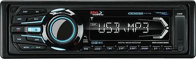 Boss Audio Systems In-Dash Bluetooth Multimedia Receiver with Detachable Front